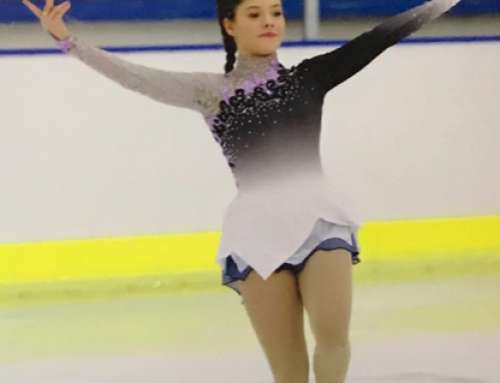 MORAY SKATER QUALIFIES FOR THE BRITISH FIGURE SKATING CHAMPIONSHIP 2017