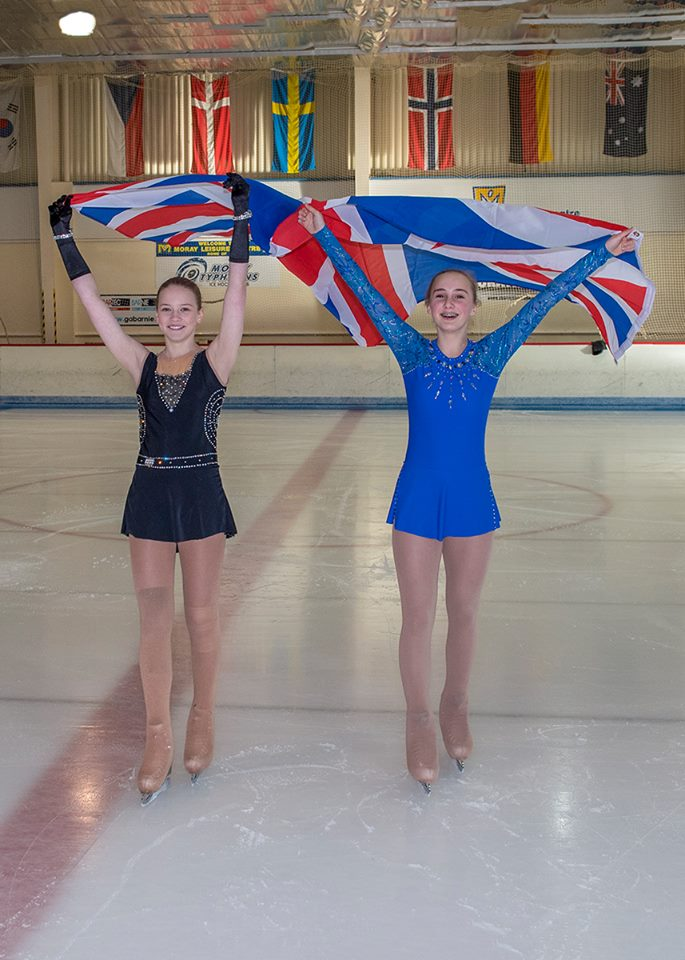 Skaters compete at British Figure Skating Championships